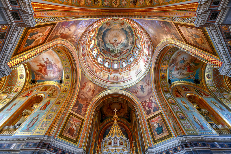 Cathedral of Christ the Savior - Moscow, Russia