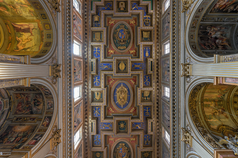 San Marcello al Corso Church - Rome, Italy