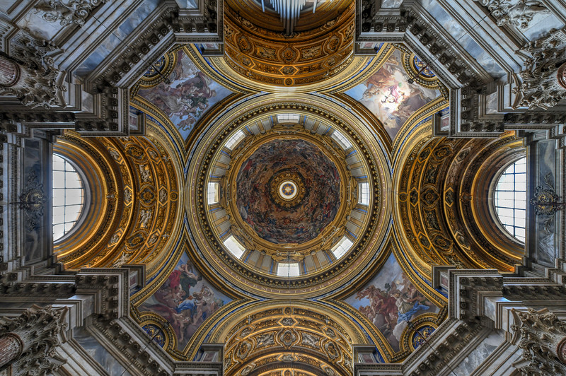 Church of Sant'Agnese - Rome, Italy
