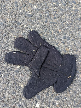 Home Depot Fuzzy Glove