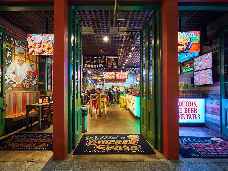Willie's Chicken Shack - New Orleans, Louisiana
