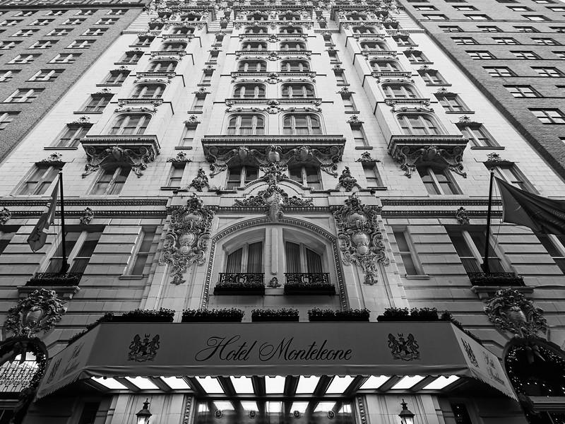 Facade, Hotel Monteleone - New Orleans, Louisiana