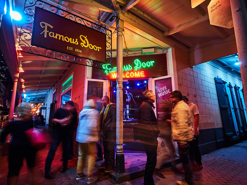 Famous Door, Bourbon Street - New Orleans, Louisiana