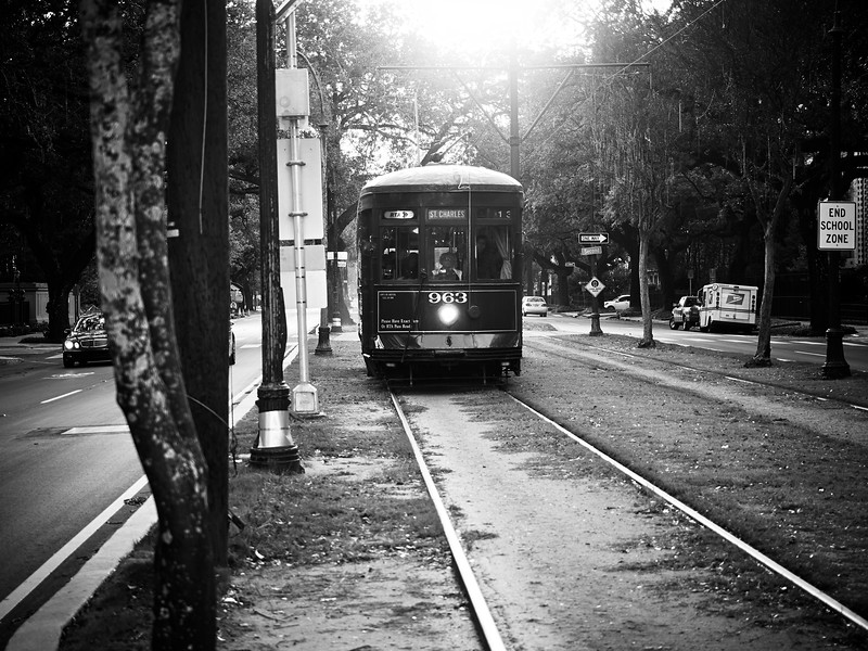 Streetcar, Garden District - New Orleans, Louisiana