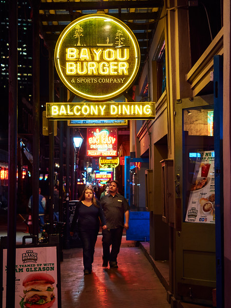 Neon, Bayou Burger - New Orleans, Louisiana