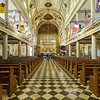 Interior, St. Louis Cathedral - New Orleans, Louisiana