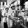 Order Prep, Cafe Du Monde - New Orleans, Louisiana