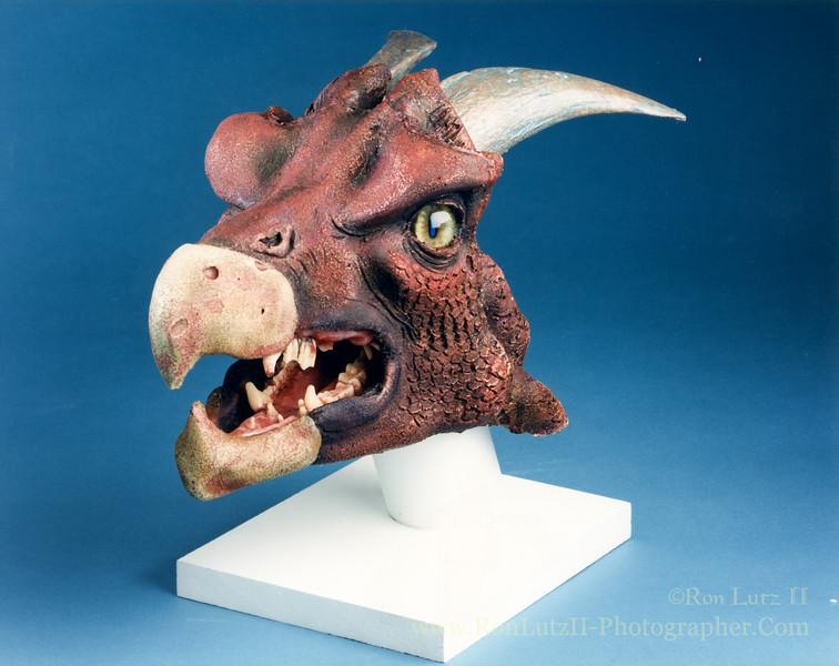 Foam Latex Dragon Head