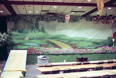 Wizard of Oz, Backdrop Painting