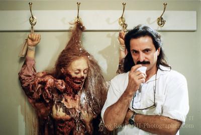 "Tom Savini & Annabel's Corpse - 1989 - ""Two Evil Eyes"""