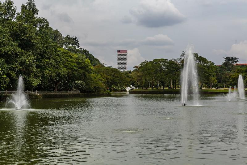 LAKE GARDENS. KUALA LUMPUR. MALAYSIA.