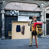 MEXICO CITY. MEXICO. STREET ORGAN PLAYER. [2]