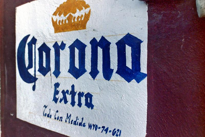 CORONA WALL PAINTING. VALLADOLID. YUCATAN. MEXICO.