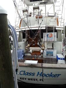 Fisherman's fully equipped dreamboat...Key West, Fla Marina 4/23/14