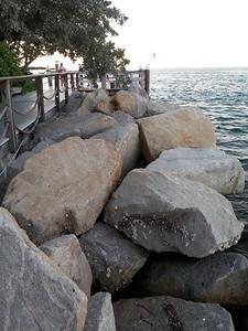 Key West, Fla Marina wharf/boardwalk near sunset 4/23/14