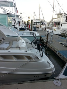 Alternate means of transportation. ..Key West, Fla Marina 4/23/14