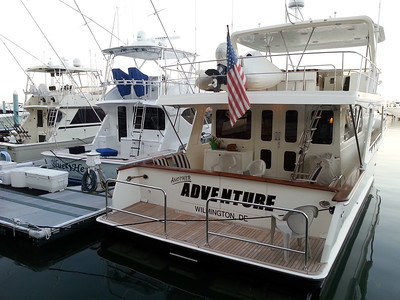 Serious Rides docked in the Key West, Fla Marina 4/23/14