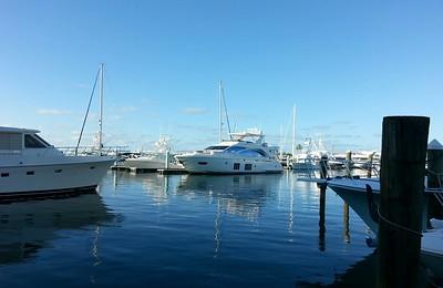 Key West, Fla Marina...sunset in a boater's paradise 4/23/14