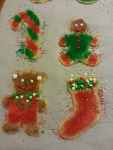 Special Christmas sugar cookies