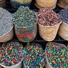 MARRAKECH. MOROCCAN SPICES ON A MARKET.