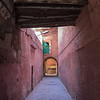 MARRAKECH. THE PINK WALLS OF THE MEDINA.