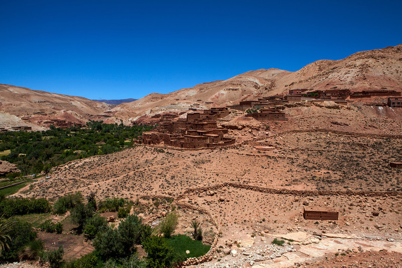 HIGH ATLAS MOUNTAINS. CENTRAL MOROCCO. MOROCCO. NORTH AFRICA.