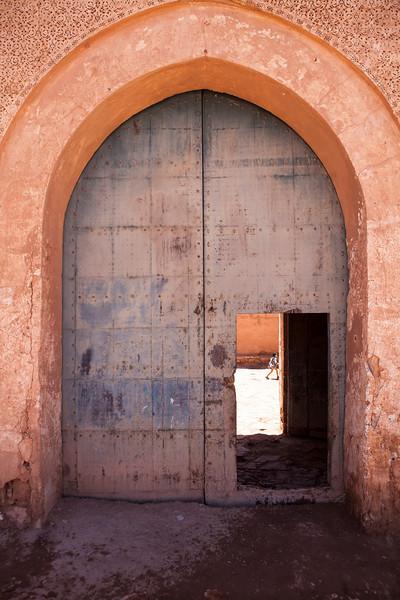 KASBAH TAMDAKHT. HIGH ATLAS. CENTRAL MOROCCO. GATE [2]