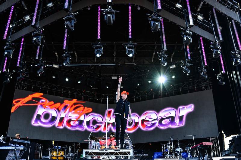 Blackbear at One Love Festival