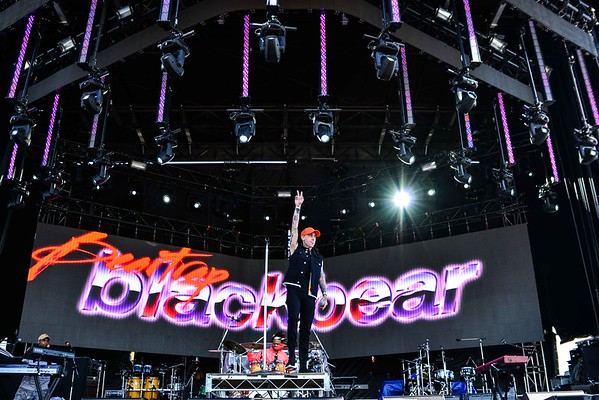 Blackbear at One Love Festival