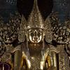 MANDALAY. SANDAMUNI PAYA. SHINY BUDDHA. BURMA. MYANMAR.