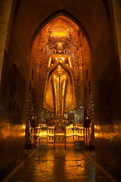 Archeological site of Bagan - Myanmar | Burma - Ananda Pahto built between 1190 and 1105.
