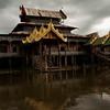 INLE LAKE. NGA HPE KYAUNG [JUMPING CAT MONASTERY]. BURMA. MYANMAR. [2]
