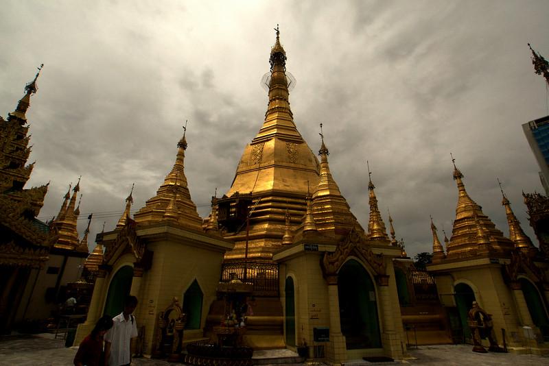 YANGON. RANGOON. TEMPLE. CITY CENTER. BURMA. MYANMAR.
