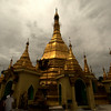 YANGON. RANGOON. TEMPLE. CITY CENTER. BURMA. MYANMAR.