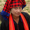 INLE LAKE. TRIBE WOMAN. BURMA. MYANMAR.