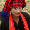 INLE LAKE. TRIBE WOMAN. BURMA. MYANMAR.