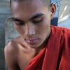 MANDALAY. MONK VEN ACARO [20 YEARS OLD] MANDALAY HILL. BURMA. MYANMAR.