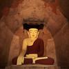BUDDHA. SULAMANI PAHTO (CONSTRUCTED AROUND 1181 BY NARAPATISITHU). ARCHEOLOGICAL SITE OF BAGAN (PAGAN). MYANMAR | BURMA.