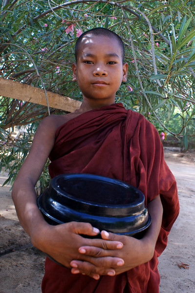 Archeological site of Bagan - Myanmar | Burma. Kyanzittha Monastery - Nyaung U. NOVICE [2]