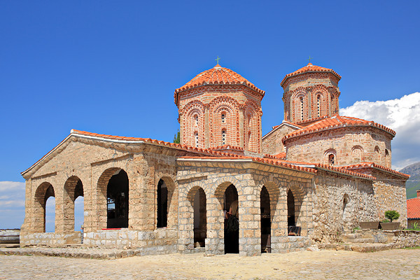 St. Naum orthodox monastery in Ohrid, Macedonia