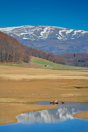 Spring landscape from Mavrovo region, Macedonia
