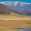 Spring landscape from Mavrovo region, Macedonia