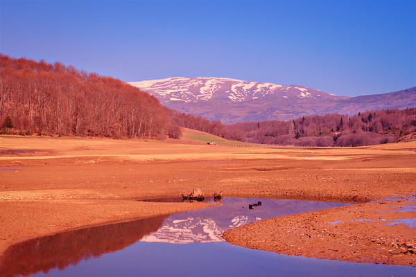 Landscape from Mavrovo region, Macedonia