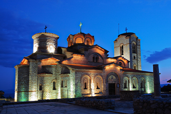 Orthodox church at Plaosnik, Ohrid, Macedonia