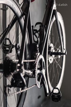 Bike in Black and White