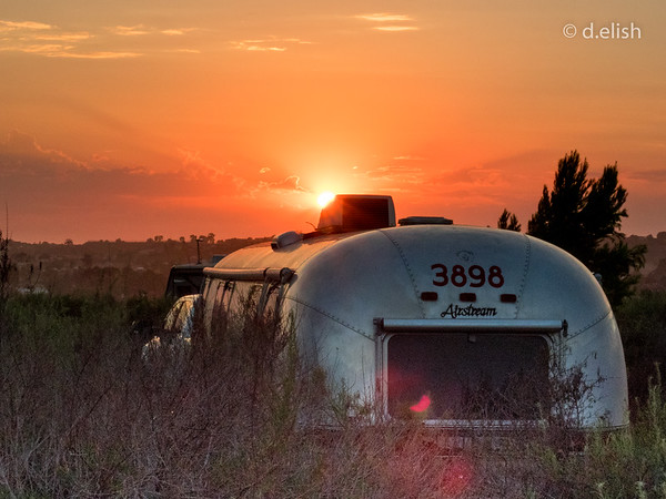 Airstream Sunset
