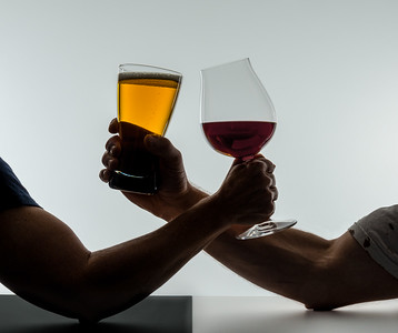 Beer vs. Wine