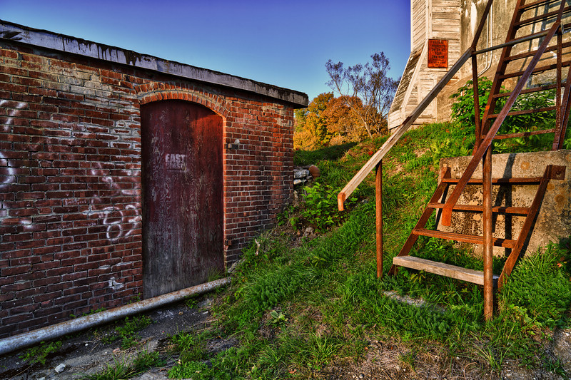 Dam Stairs - Morrisville, VT