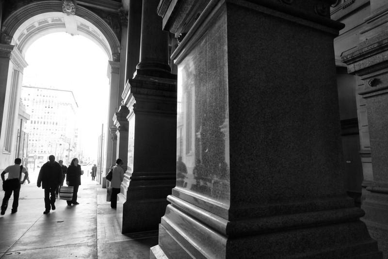 Column reflection - Philadelphia, PA