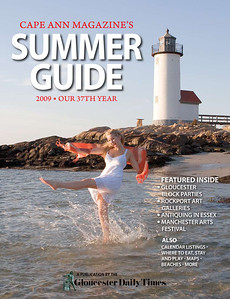 A hot April day made this cover work for the Summer Guide. Photo by Amy Sweeney